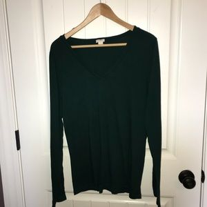 J.Crew Long Sleeve V-Neck T-shirt
